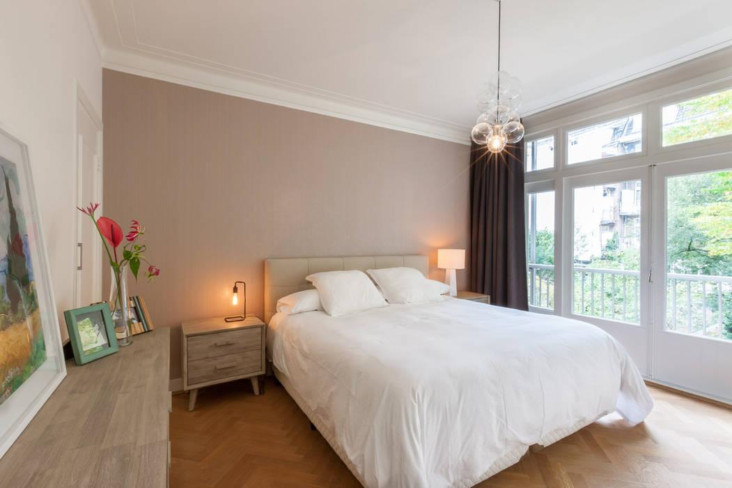 slaapkamer / master bedroom Aangenaam Interieuradvies Moderne slaapkamers