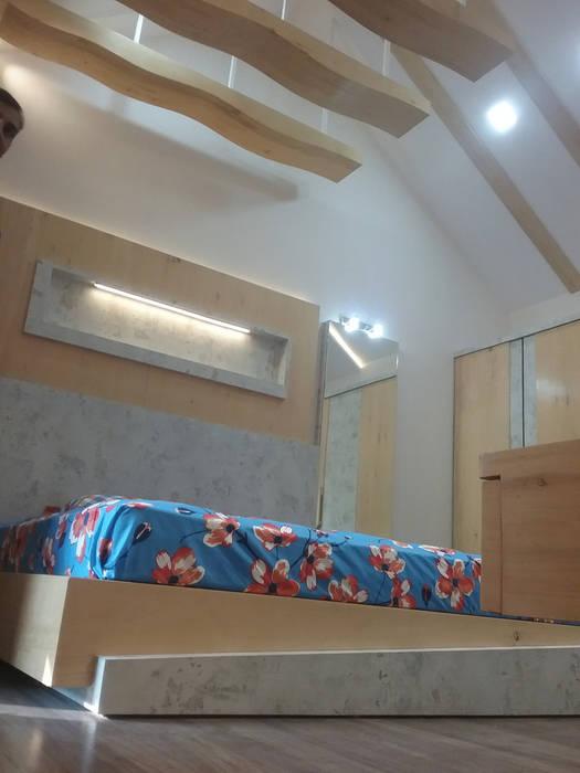 The Master bedroom:  Bedroom by i'studio creative