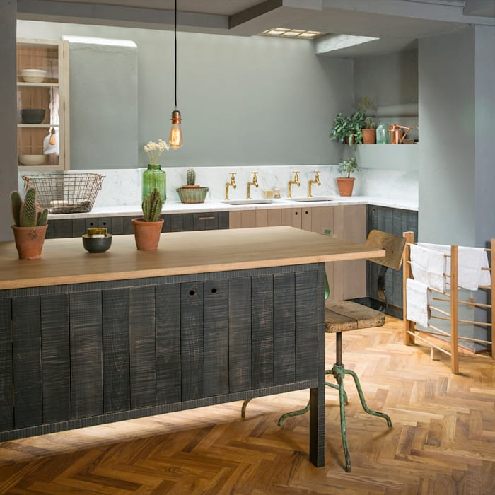 Cucina in stile in stile industriale di devol kitchens | homify
