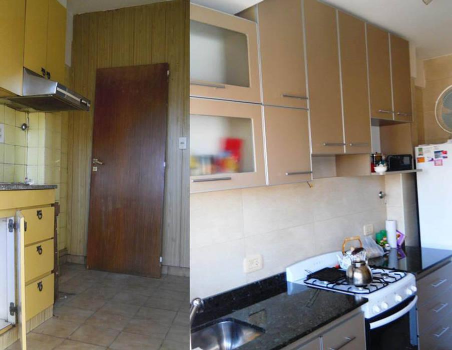 Remodelación cocina I: Cocinas de estilo moderno por AyC Arquitectura