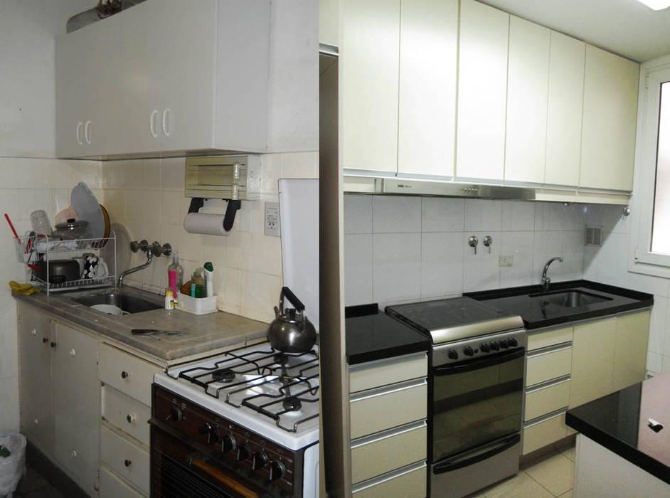 Remodelación cocina III: Cocinas de estilo moderno por AyC Arquitectura