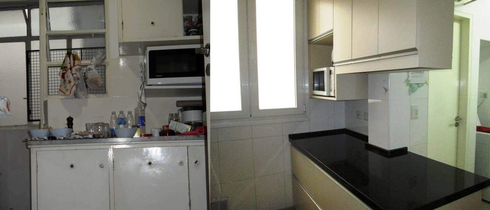 Remodelación cocina III: Cocinas de estilo  por AyC Arquitectura,Moderno Cerámico