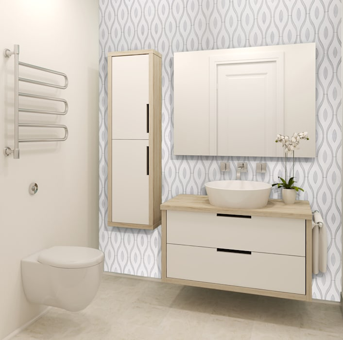 modern Bathroom by Elalux Tile