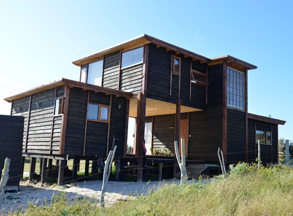 โดย BLAC arquitectos ชนบทฝรั่ง ไม้ Wood effect