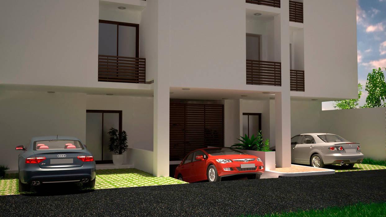 fachada de M4X Moderno