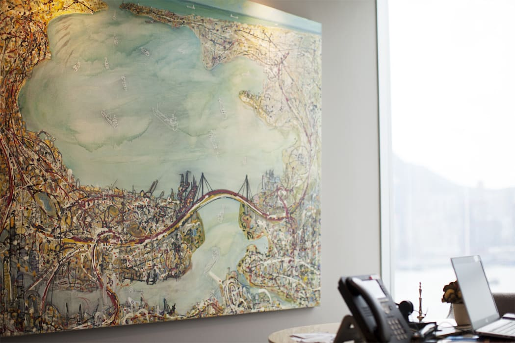 Project : Corporate in TST ( VIP Office):  Artwork by Art-Lease