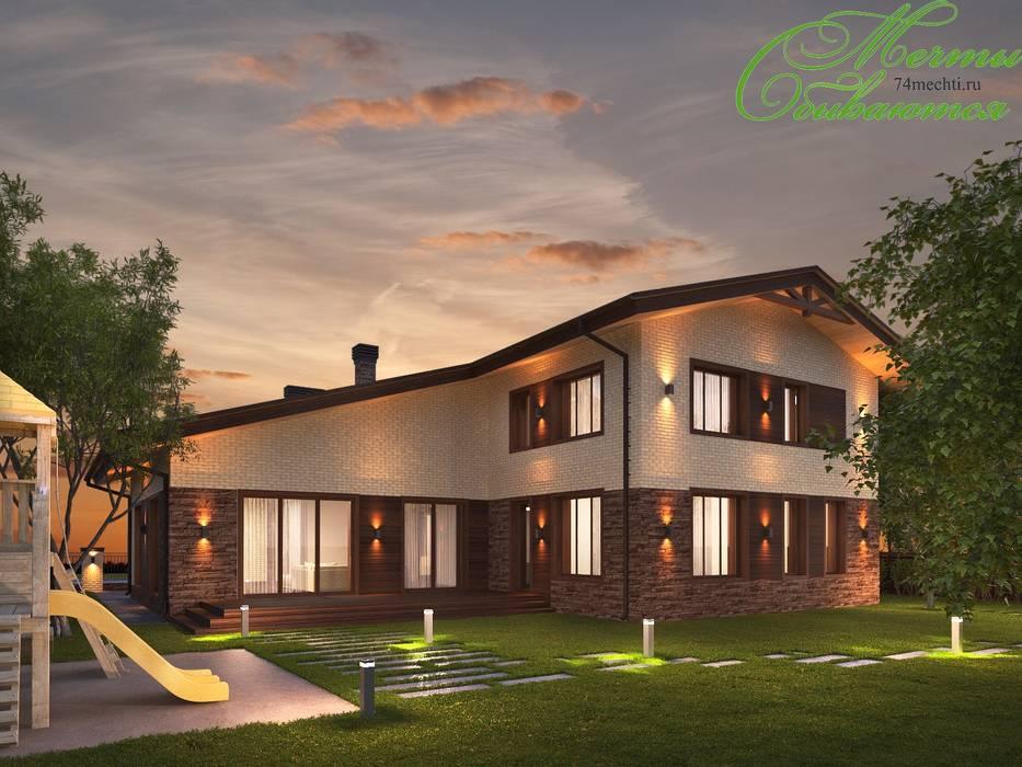 โดย Компания архитекторов Латышевых 'Мечты сбываются' คลาสสิค
