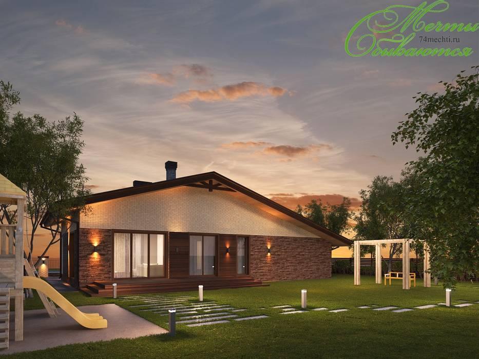 Maisons de style  par Компания архитекторов Латышевых 'Мечты сбываются',