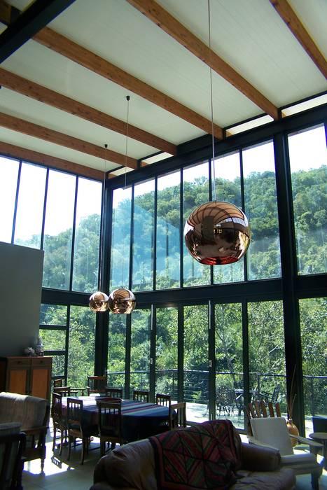 Salon moderne par Human Voice Architects Moderne