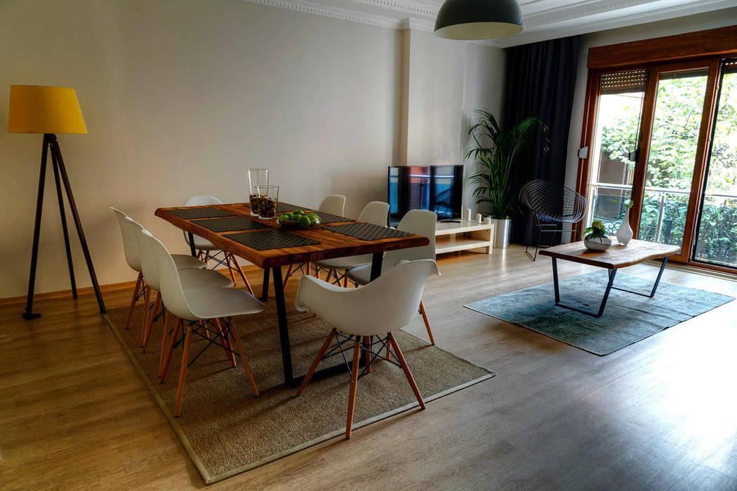 Mandalin Dizayn – Nişantaşı Kıvanç Sokak 2+1 Daire Projesi:  tarz Oturma Odası