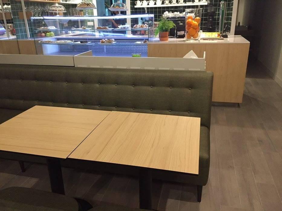 Pastelaria Guimarães Design interiores Rui Cunha parceria Equevo Espaços de restauração industriais por Equevo - Interiores Design Industrial