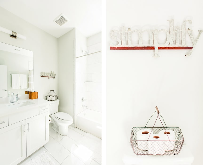 Baños de estilo moderno de Brett Nicole Interiors Moderno