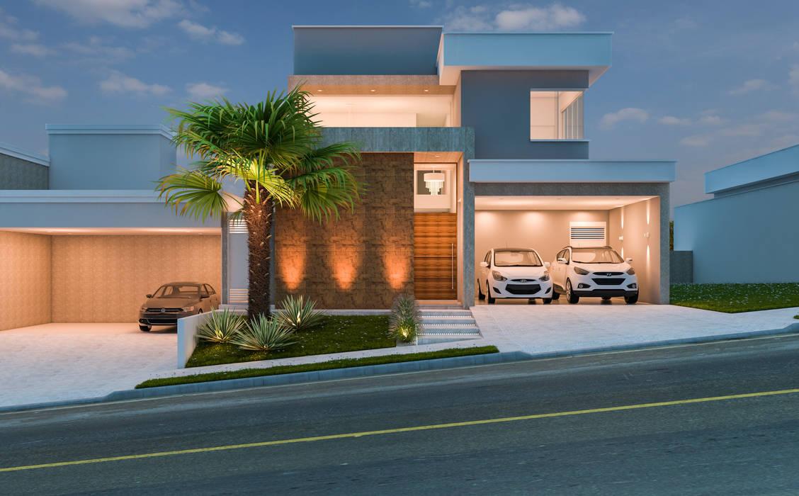 Casas de estilo moderno de Daniele Galante Arquitetura Moderno