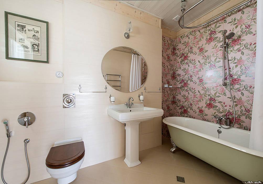 Гостевая ванная: Ванная комната в . Автор – Эдуард Григорьев (daproekt),