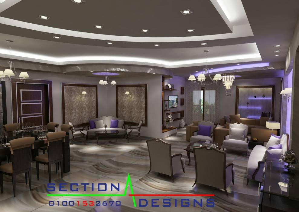 บ้านและที่อยู่อาศัย โดย section designs, โมเดิร์น