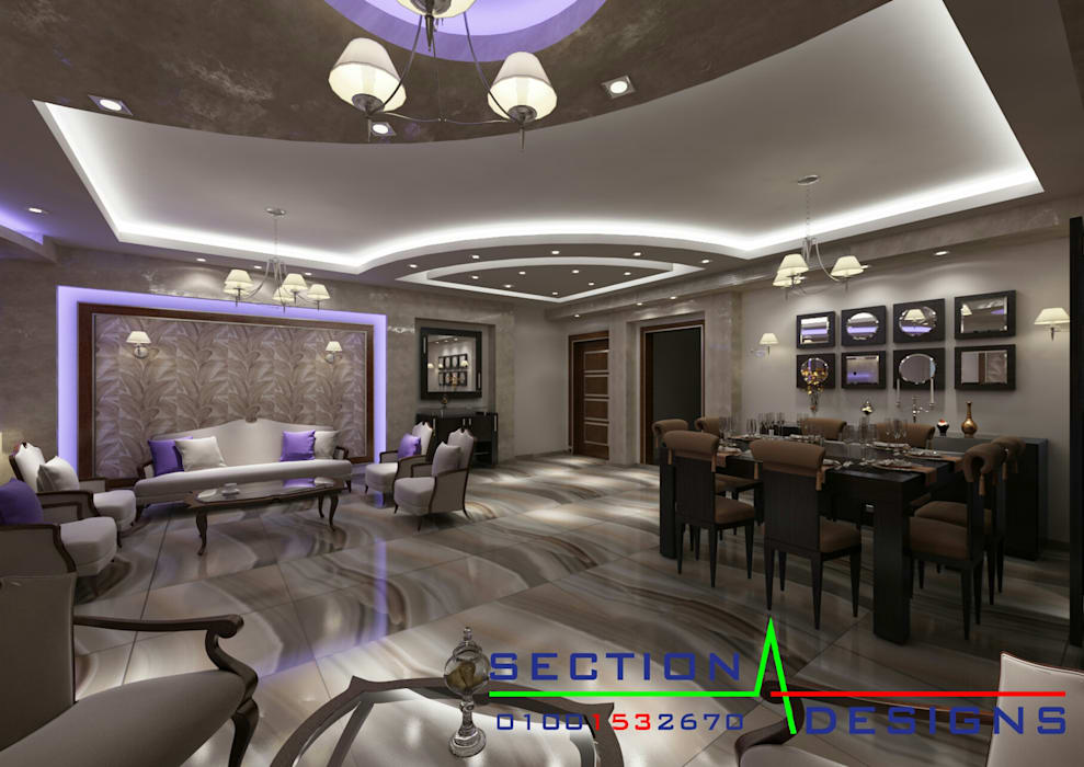 Houses by section designs, Modern
