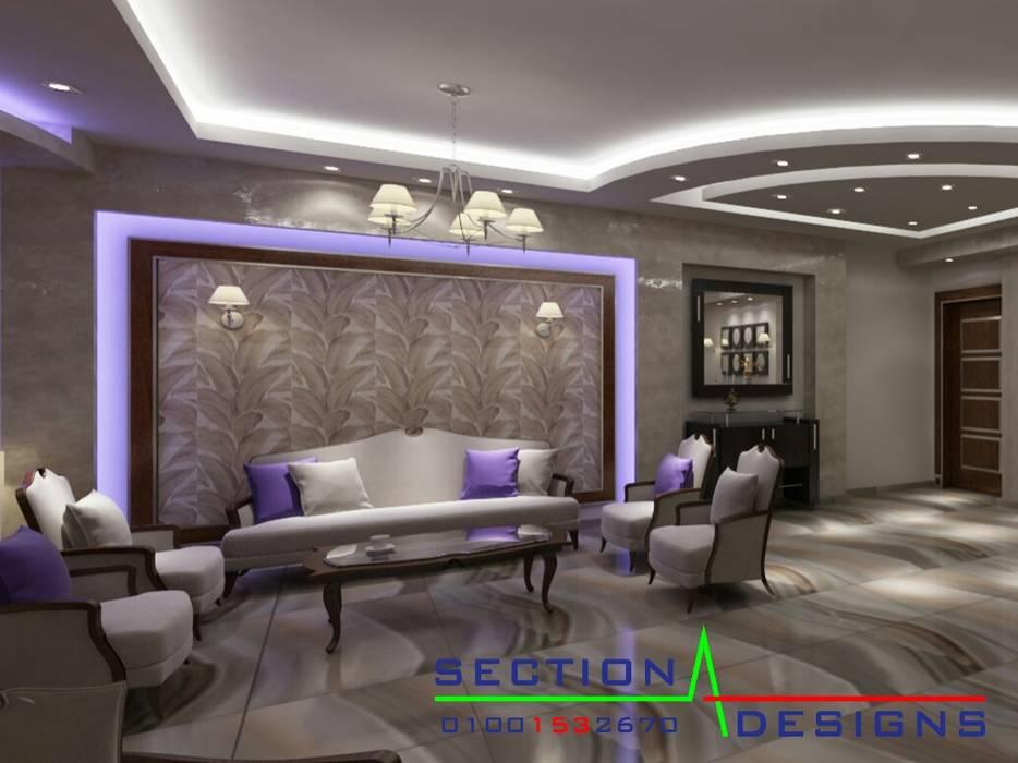 Maisons de style  par section designs,