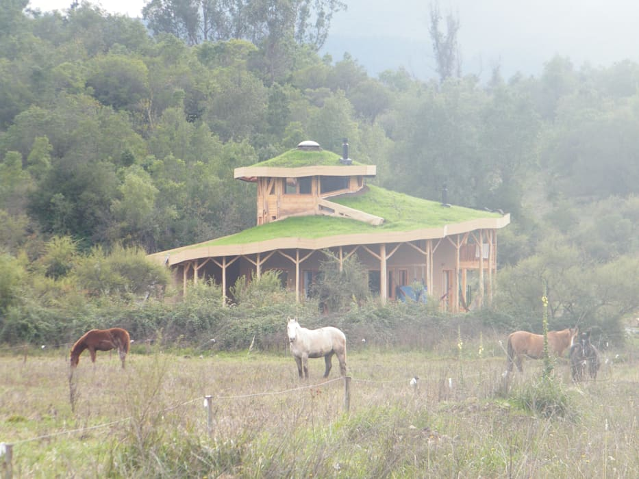 Casa Sol en Rari Casas de estilo rústico de Secrea Rústico