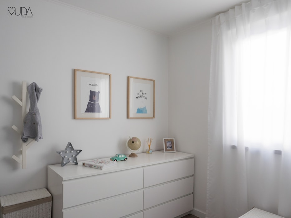 Nursery/kid's room by MUDA Home Design,