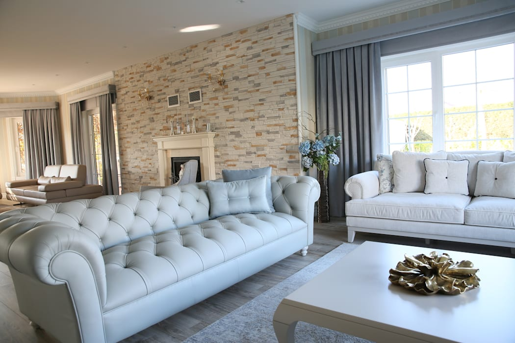 Modern living room by homify Modern Stone