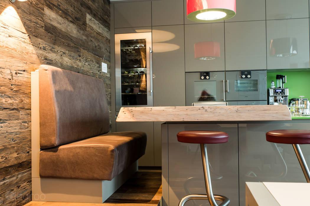 Sitzbank mit hocker moderne küchen von homify modern | homify