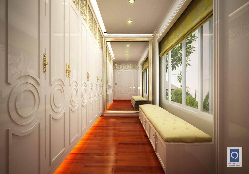 ผลงานการออกแบบ ห้องนอน โครงการ The Palazzo Sathorn:  ตกแต่งภายใน โดย ริชวัน กรุ๊ป,