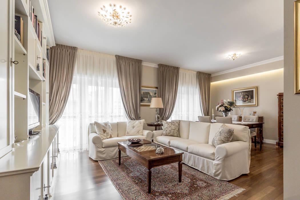 Soggiorno open space soggiorno in stile di facile for Foto salotti moderni arredati