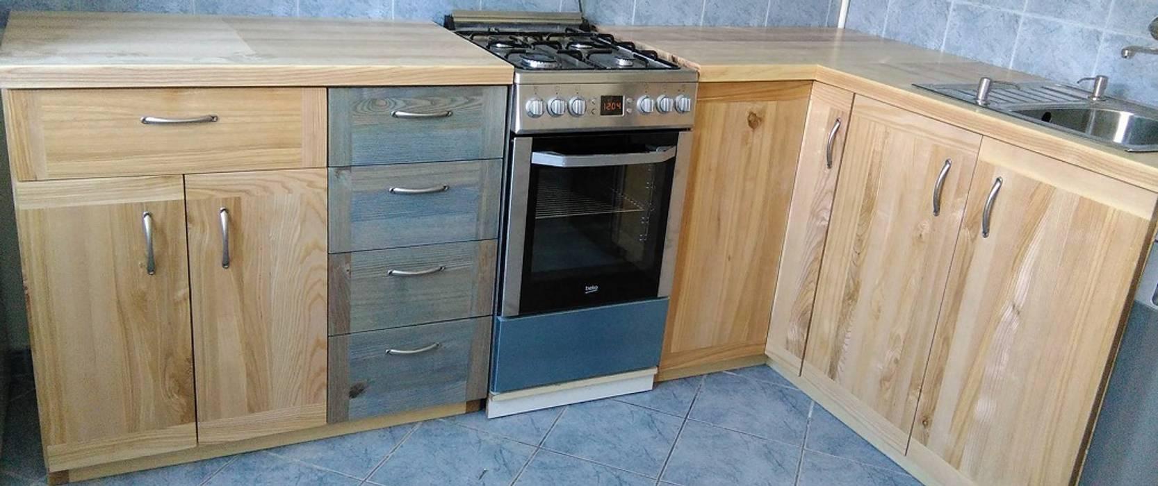 Meble Kuchenne Jesionowe Styl W Kategorii Kuchnia Zaprojektowany