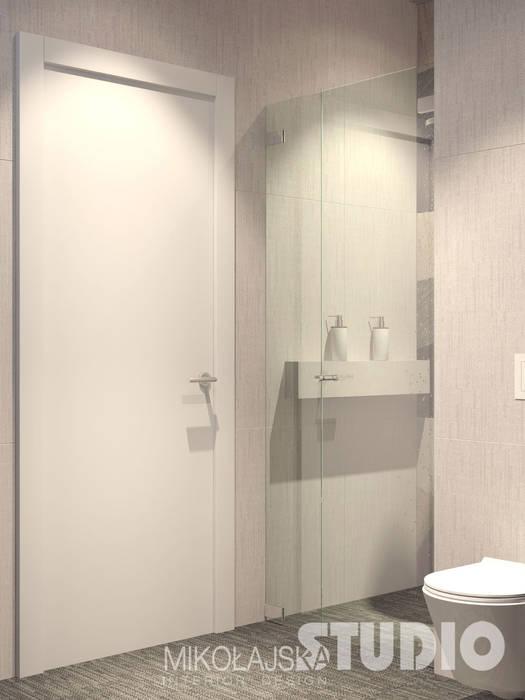 Mała łazienka Styl W Kategorii łazienka Zaprojektowany