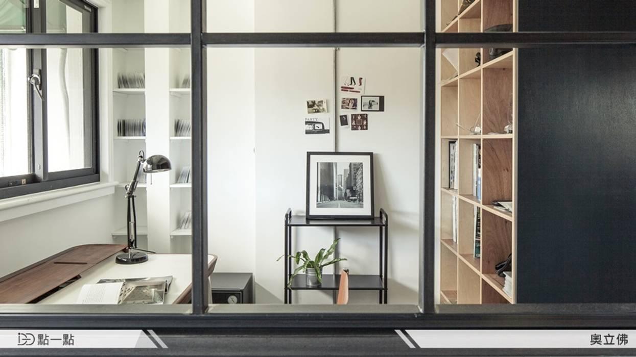 奧立佛設計:  書房/辦公室 by iDiD點一點設計