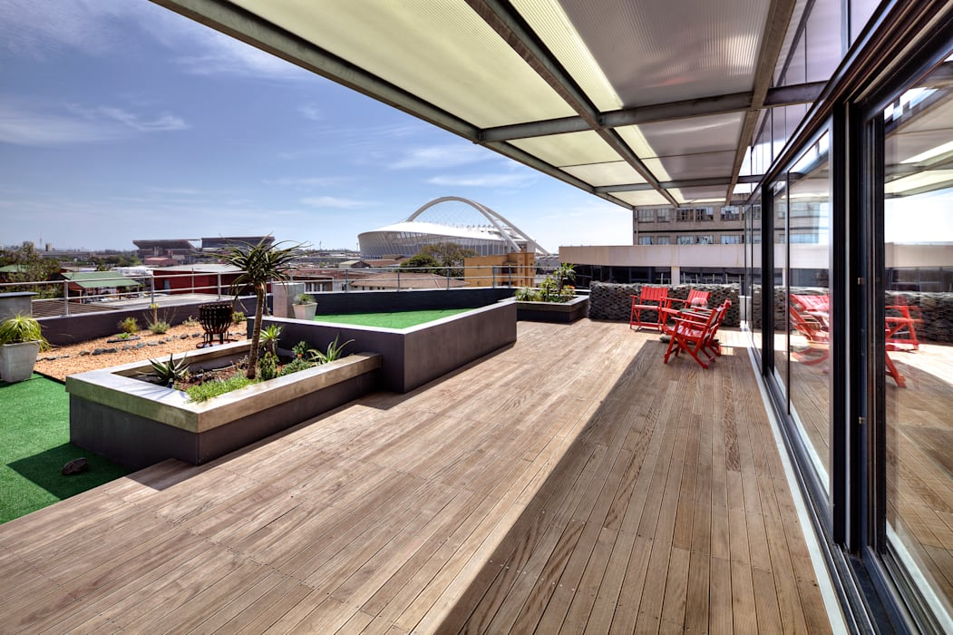 Churchill Loft Sphere Design & Architecture Industrial style houses