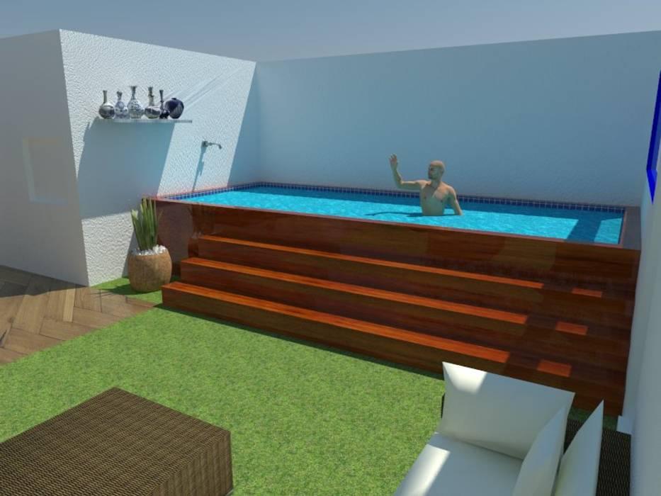 Estudio de Diseño Interior 泳池