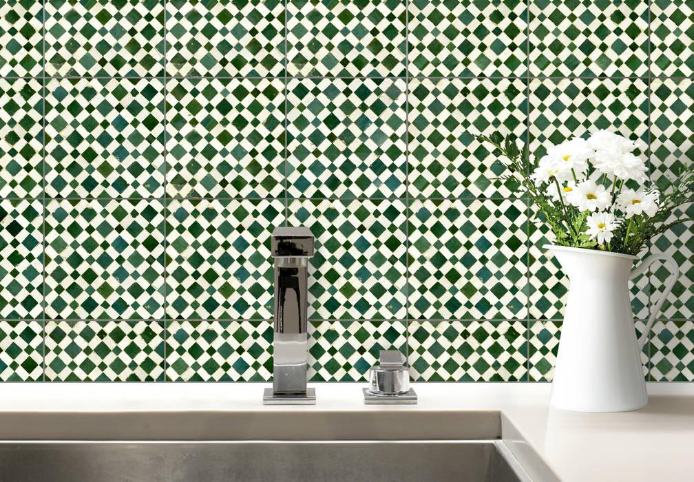 Fliesenaufkleber Mosaik 02: modern  von K&L Wall Art,Modern Kunststoff Braun
