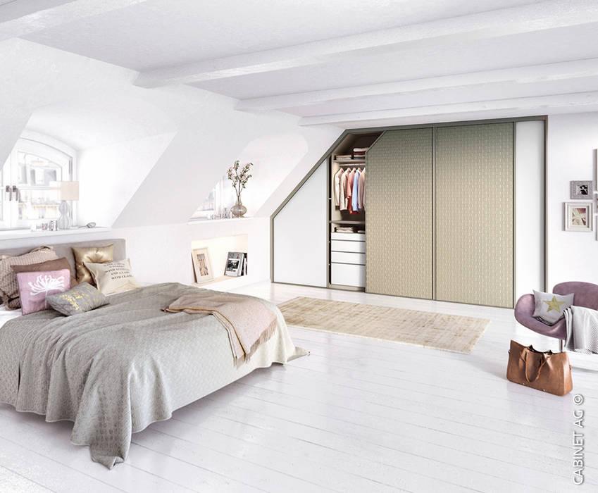 Çatı katı alanınızı genişletin CABINET Modern Yatak Odası