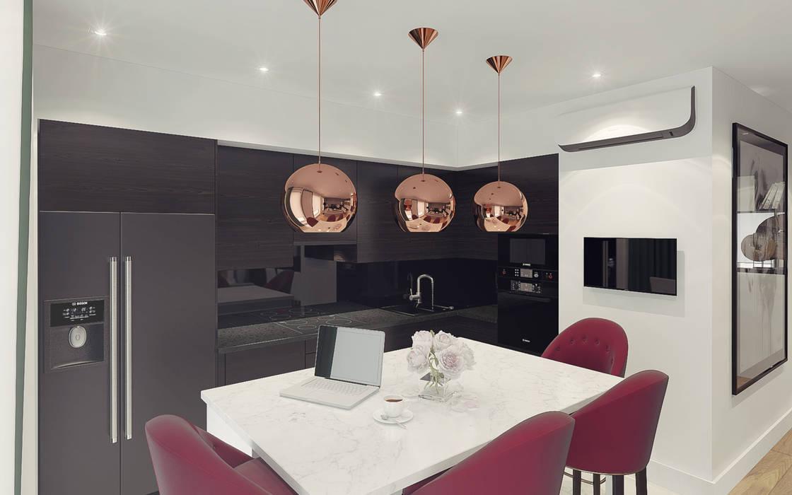 Dapur Modern Oleh Ksenia Konovalova Design Modern