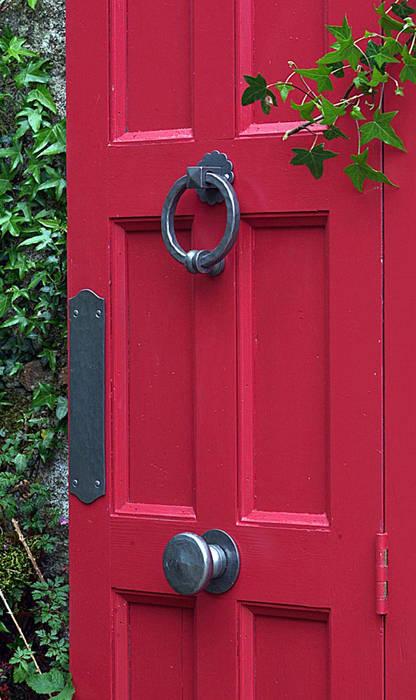 Historique Front Door de Clayton Munroe Ecléctico Hierro/Acero