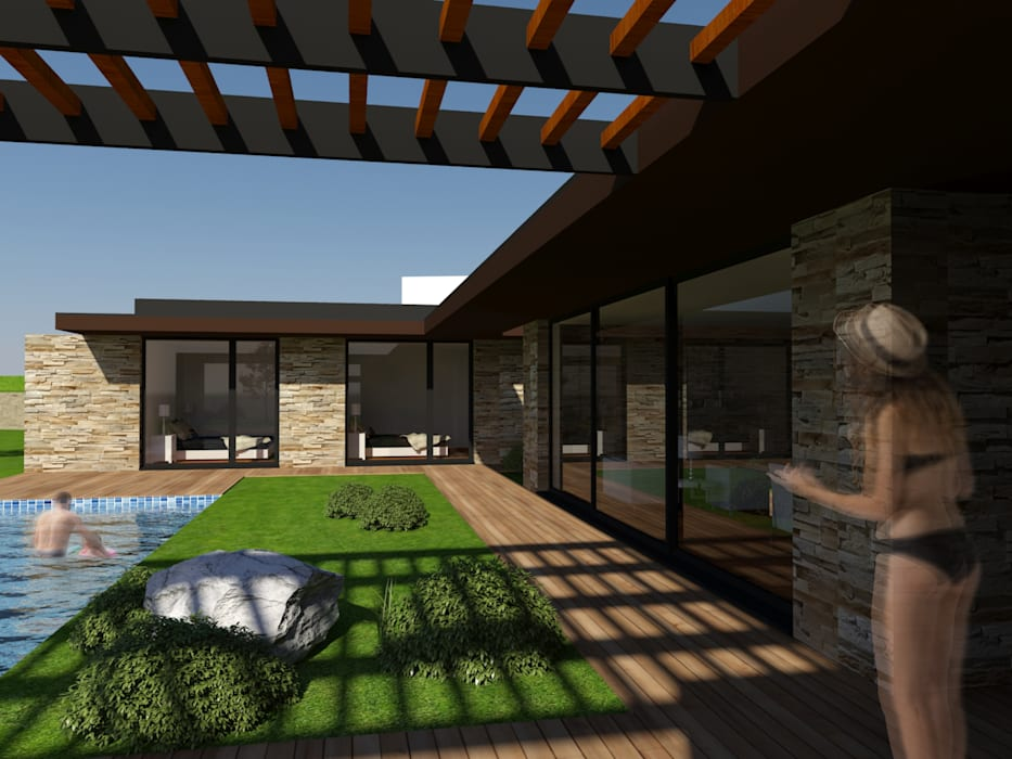 Casa da Venda: Casas  por Miguel Zarcos Palma,