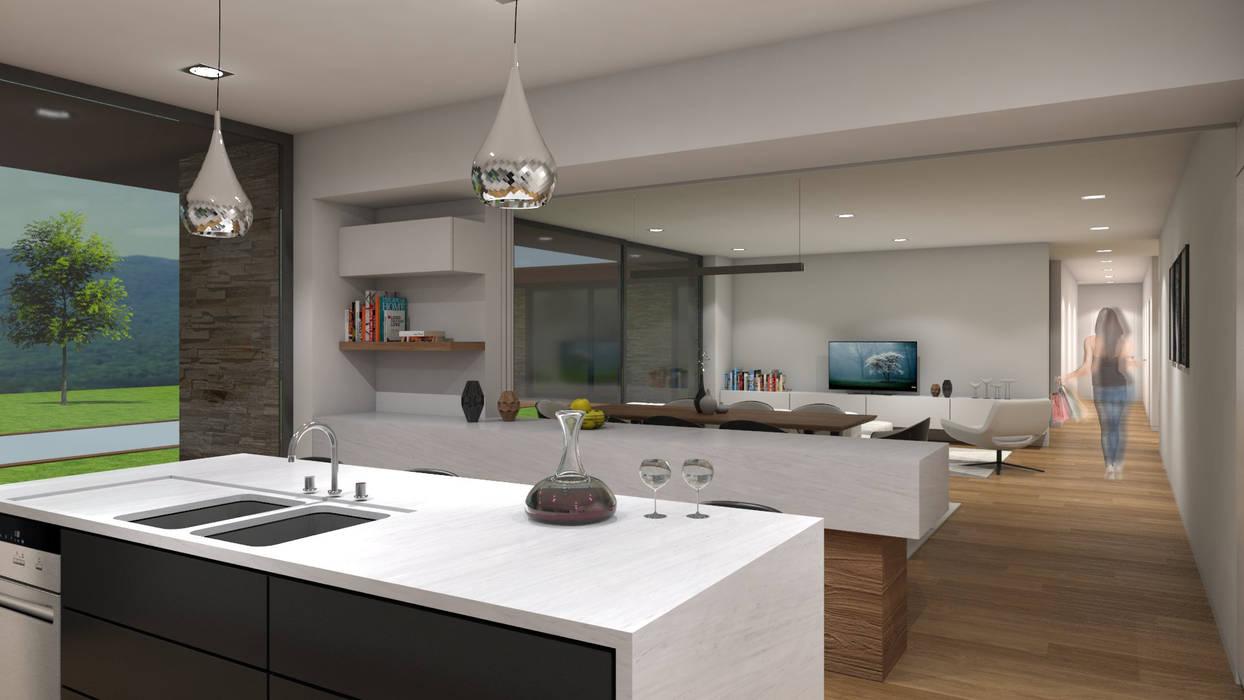 Casa da Venda: Cozinhas  por Miguel Zarcos Palma