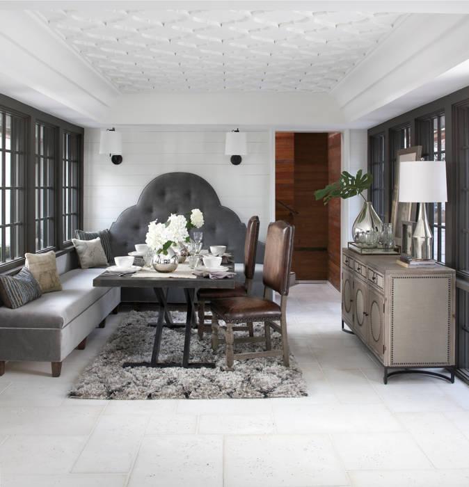 Salas de jantar ecléticas por Christopher Architecture & Interiors Eclético