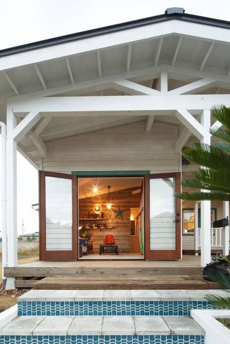 Balcon, Veranda & Terrasse originaux par dwarf Éclectique