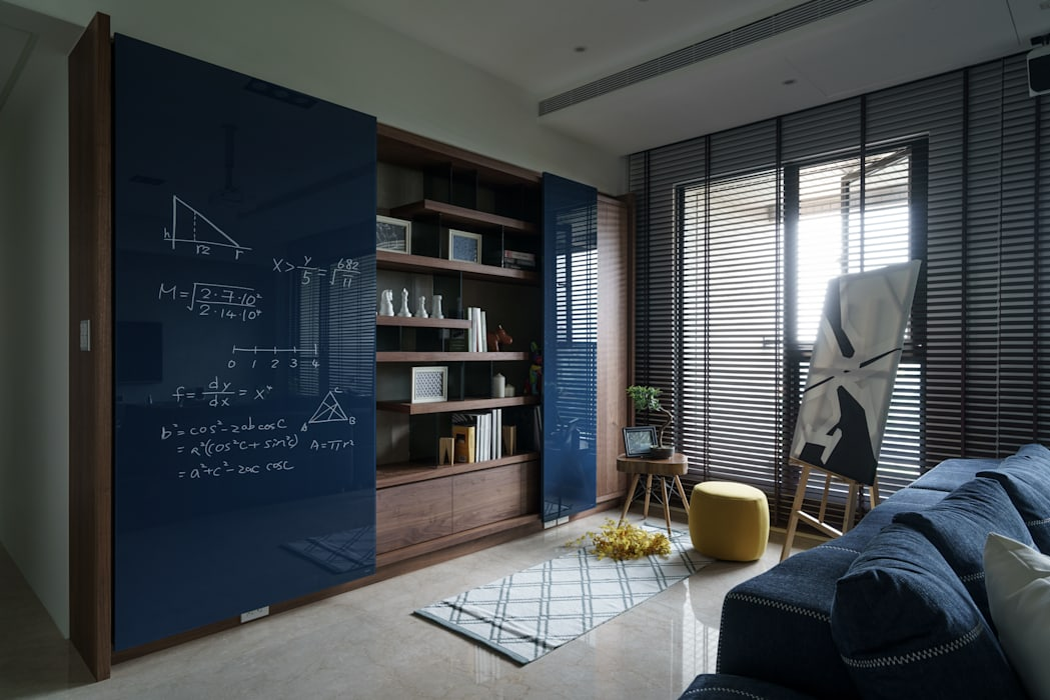 โดย 千綵胤空間設計 โมเดิร์น ไม้จริง Multicolored