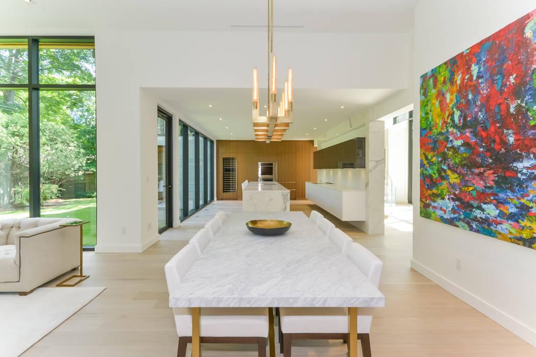 Rockcliffe Park Modern dining room by Flynn Architect Modern