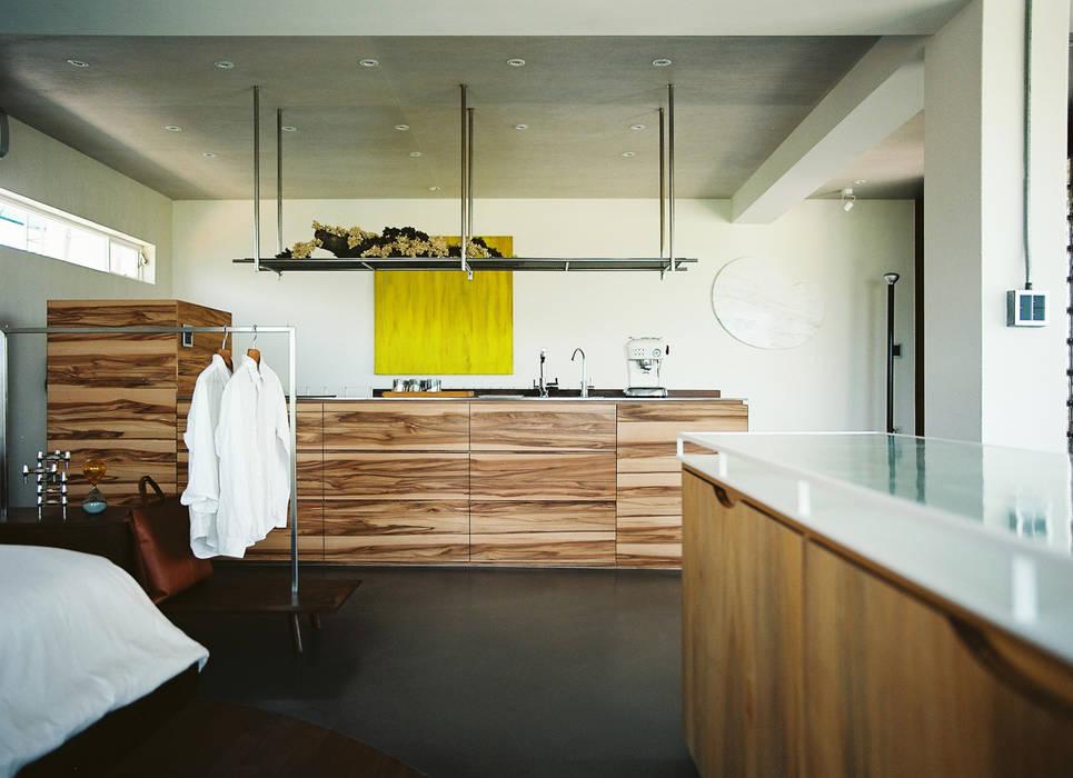 Bedroom Modern style bedroom by 鄭士傑室內設計 Modern