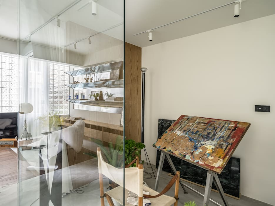 Indoor Green Room 根據 鄭士傑室內設計 現代風