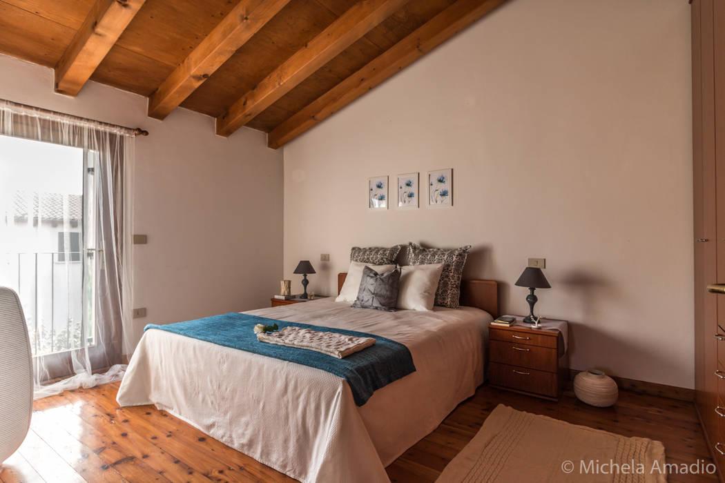 Camera Matrimoniale A Treviso.Casa Coccola Home Staging A Treviso Camera Da Letto In Stile Di