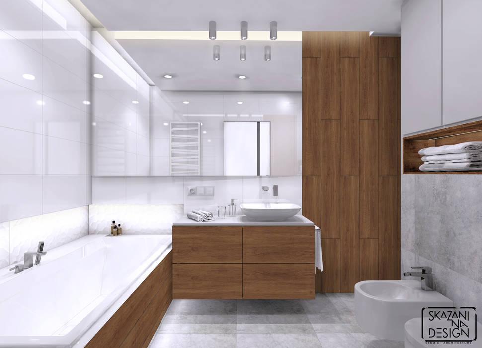 Moderne badezimmer von skazani na design studio architektury   homify