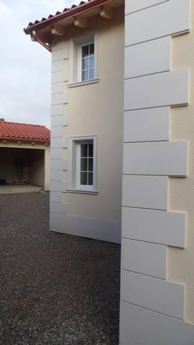 Angolari bugnati in polistirolo resinato Eleni Decor Casa rurale Bianco