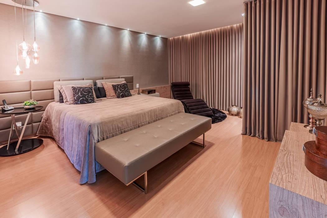 Minimalist bedroom by Das Haus Interiores - by Sueli Leite & Eliana Freitas Minimalist