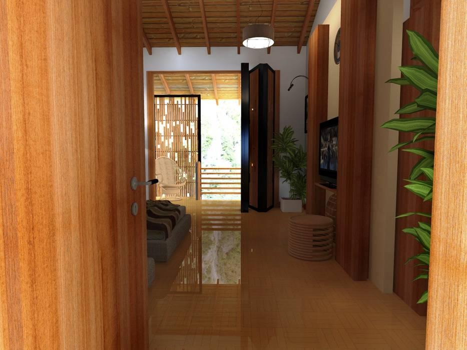 HOTEL EN SANTA TERESA - LA CONVENCIÓN - CUSCO de Paz Ingenieros & Arquitectos Moderno