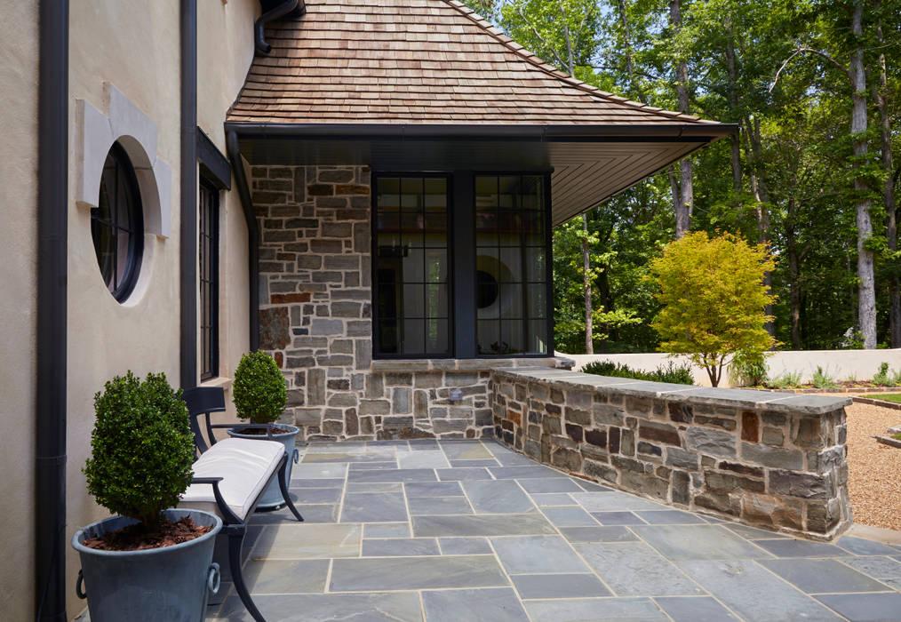 Christopher Architecture & Interiors Classic style balcony, veranda & terrace